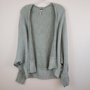Free People Motions knit open front cardigan E
